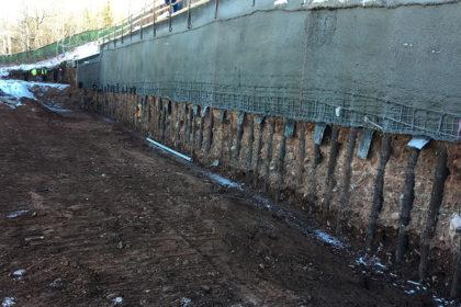 Permanent Micropile Walls