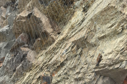 High Scale Rockfall Protection